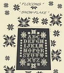 Flocons - Snow-Flake - (Cross Stitch)
