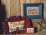 Liberty Stars - (Cross Stitch)