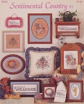 Sentimental Country #1 - (Cross Stitch)