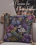 A Passion for Plums Pillow - (Cross Stitch)