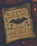 A Halloween Year II- May- Batty About Halloween - (Cross Stitch)
