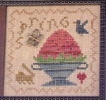 Timely Spring - (Cross Stitch)