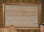 Nancy Garrish 1828 Sampler