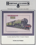 Flying Scotsman - (Cross Stitch)