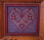 My Full Heart - (Cross Stitch)