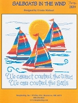 Sailboats in the Wind - (Cross Stitch)