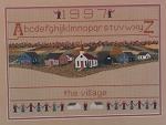 Village Sampler - (Cross Stitch)