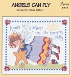 Angels Can Fly - (Cross Stitch)