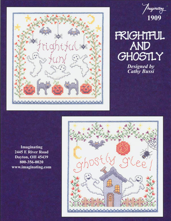 Frightful and Ghostly - (Cross Stitch)