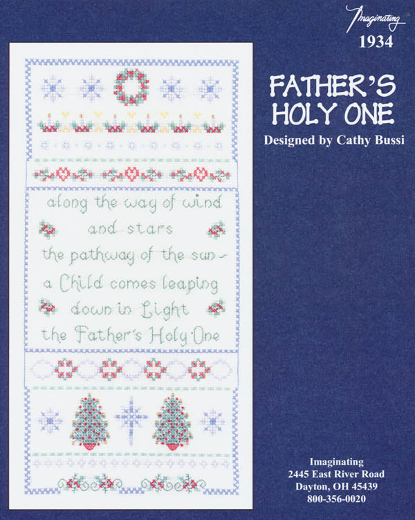 Father's Holy One - (Cross Stitch)