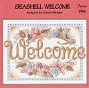 Seashell Welcome - (Cross Stitch)