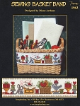 Sewing Basket Band - (Cross Stitch)