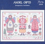 Angel Gifts - (Cross Stitch)