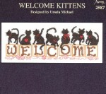 Welcome Kittens - (Cross Stitch)