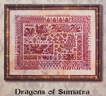 Dragons of Sumatra - (Cross Stitch)
