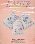 Bunny Treat Bags Kit - (Cross Stitch)