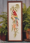 Scarlet Macaw - (Cross Stitch)