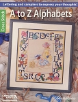 A To Z Alphabets - (Cross Stitch)