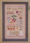 Garden Sampler w/Charms - (Cross Stitch)