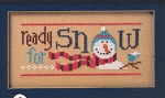 6 Snow Belles - Ready for Snow - (Cross Stitch)