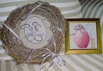 Eclectic Easter - Bunnies - (Cross Stitch)