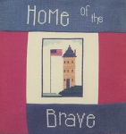 Home of the Brave - (Cross Stitch)