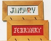 January and Frebruary - (Cross Stitch)