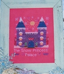 Snow Princess Palace - (Cross Stitch)