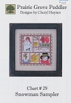 Snowman Sampler - (Cross Stitch)