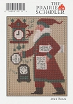 2013 Santa Prairie Schooler - (Cross Stitch)