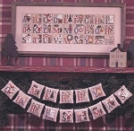 Christmas Alphabet - (Cross Stitch)