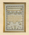 Jane Teece Sampler - (Cross Stitch)
