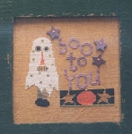 Boo to You - (Cross Stitch)