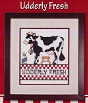 Udderly Fresh - (Cross Stitch)