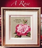 A Rose - (Cross Stitch)