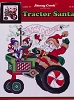 Tractor Santa - (Cross Stitch)
