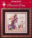 Blessed Day - (Cross Stitch)