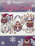 Joyful Owls - (Cross Stitch)