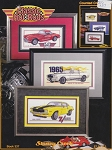 Classic Hot Rods - (Cross Stitch)