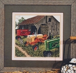 Auction Day - (Cross Stitch)