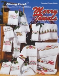 Merry Towels - (Cross Stitch)