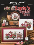 Santa's Truckin' Team - (Cross Stitch)