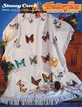 Butterflies Collectors Series Afghan - (Cross Stitch)