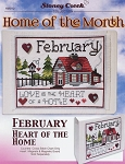 Home of the Month - February - (Cross Stitch)