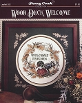 Wood Duck Welcome - (Cross Stitch)