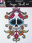 Sugar Skull #1 - (Cross Stitch)