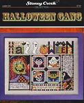 Halloween Gang - (Cross Stitch)