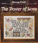 The Power of Love - (Cross Stitch)