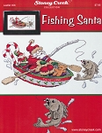 Fishing Santa - (Cross Stitch)