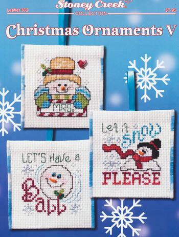 Christmas Ornaments V - (Cross Stitch)